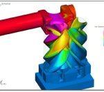 Screw Pump CFD Simulation