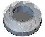 3D CAD Impeller