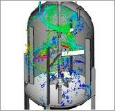 Mixing Tank CFD Simulation