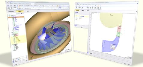 CFturbo 2D - 3D Turbo-Machinery Display