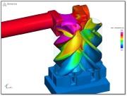 Screw Compressor CFD Simulation
