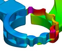 Gear Pump CFD Simulation