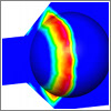 CFD Simulation of a Ball Valve