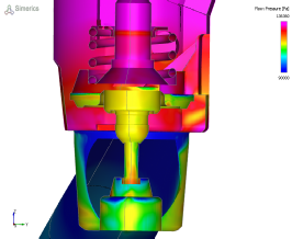 Pressure Loss CFD Simulation