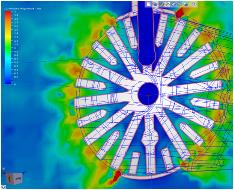 Conjugate Heat Transfer Simulation