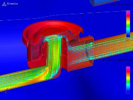 Diaphragm Valve Simulation