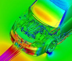 Underhood Flow - Vehicle Template