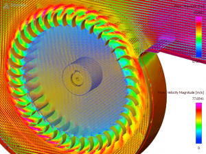 CFD Simulation of Blower/Fan