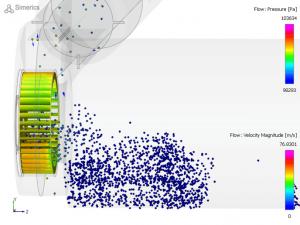Particle Transport Simulation (Sand Entrainment)
