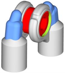 Parametric CAESES Optimization Model